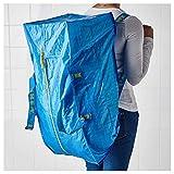 [イケア]IKEA FRAKTA  トロリー用バッグ ブルー(90161989)