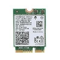 YQZインテル デュアルバンドM.2無線LANカード 高速 Wi-Fi 通信Band Wireless-802.11 AC Intel 9560NGW 1730Mbps 9560AC NGFF Bluetooth 5.0