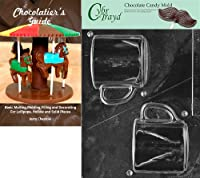 (+Chocolatier Bk) - Cybrtrayd Bk-D070 3D Coffee Mug Dads and Moms Chocolate Candy Mould with Chocolatier's Guide Instructions Book Manual