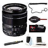 Fujifilm XF 18???55?mm f / 2.8???4?R LM OISコンパクトズームレンズ(ブラック) for Xシリーズミラーレスカメラ+フォーカスフォトA