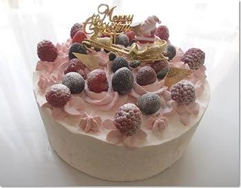 最高級クリスマス用ガトー・フレーズ・ケーキ/アレルギー対応ケーキとベジタリアン用ケーキ