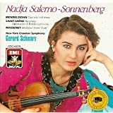 Nadja Salerno-Sonnenberg - Mendelssohn, Saint-Saテォns, Massenet