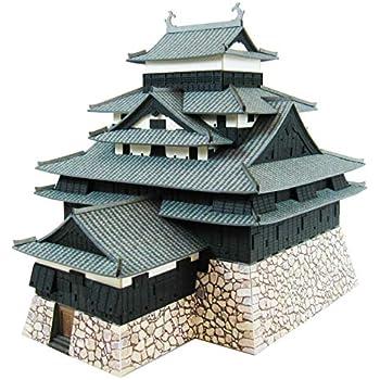 さんけい みにちゅあーとキット 名城シリーズ 1/300 国宝 松江城 ペーパークラフト MK04-06
