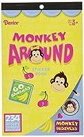Monkey Around Sticker Book ステッカーブックアラウンドモンキー♪ハロウィン♪クリスマス♪