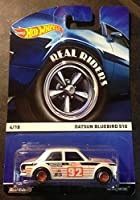 HOT WHEELS HERITAGE REAL RIDERS SERIES DATSUN BLUEBIRD 510 NEW 4/18 RARE by Hot Wheels