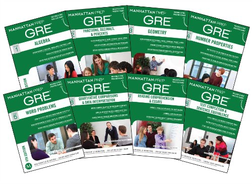 Download Manhattan Prep GRE Set of 8 Strategy Guides, 4th Edition (Manhattan Prep GRE Strategy Guides) 1937707911