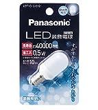 パナソニック LED電球 口金直径12mm  昼光色相当(0.5W) 装飾電球・T型タイプ 密閉形器具対応 LDT1DGE12
