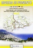Riviera di Ponente (Ligurian Riviera) Tourist Road Map - 1:145000 (English Spanish French Italian and German Edition)【洋書】 [並行輸入品]