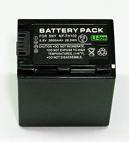 『ソニー NP-FH100 互換 バッテリー Sony DCR-DVD308 DCR-DVD508 等対応 等対応』のトップ画像