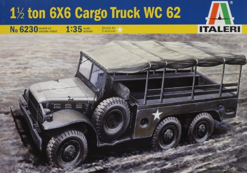 タミヤ イタレリ 1/35 MMシリーズ 6230 ダッジ WC62 トラック 39230