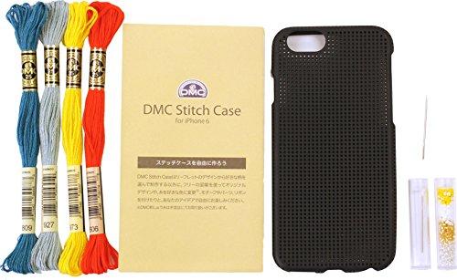 DMC クロスステッチ刺しゅうキット ステッチケース iPhone6 Noir (ブラック) iP6-DSC