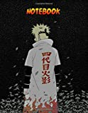 Notebook: Lined Notebook Naruto shippuden theme, Journal, 100 Pages - Large (8.5 x 11 inches)