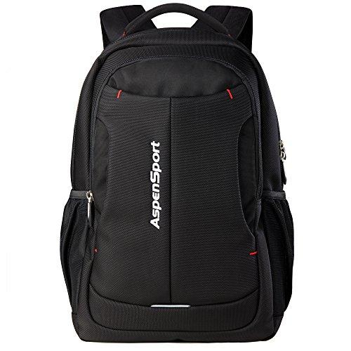 ASPENSPORT PC リュックサック ビジネス リュック メンズ 人気 高校生 黒 AS-B26BLK