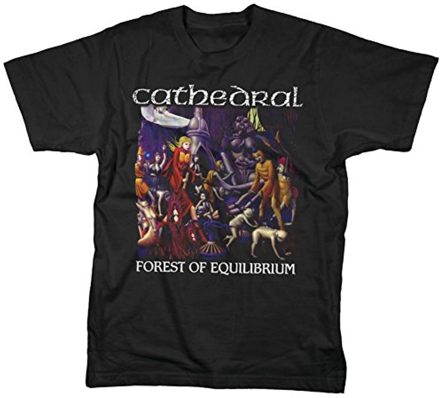 常習的混乱した長老Cathedral - Forest Of Equilibrium T-shirt Tシャツ カテドラル