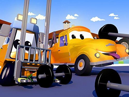 モンスタートラックのマーリーが屋根で事故!& ベビーフランシスがフォークを壊す