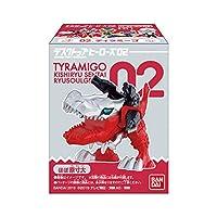 デスクトップヒーローズ 騎士竜戦隊リュウソウジャー 02 [全5種セット(フルコンプ)] バンダイ 食玩