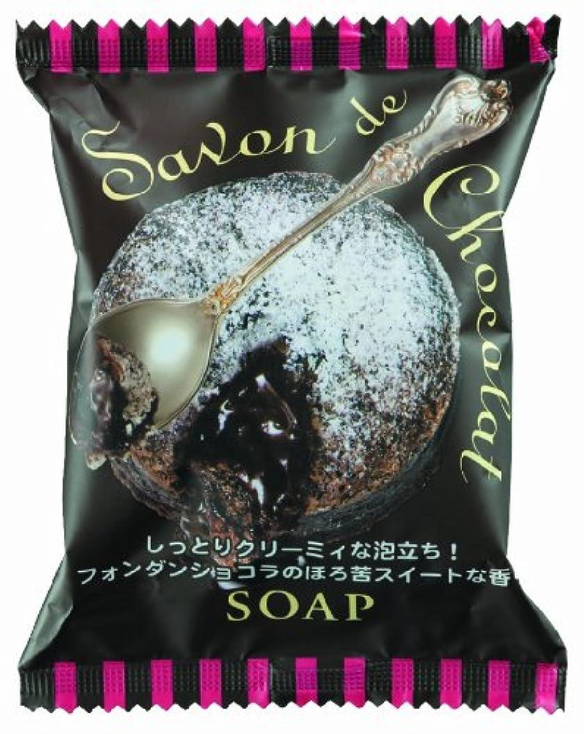 汚染観点保護するペリカン石鹸 サボンドショコラソープ 80g