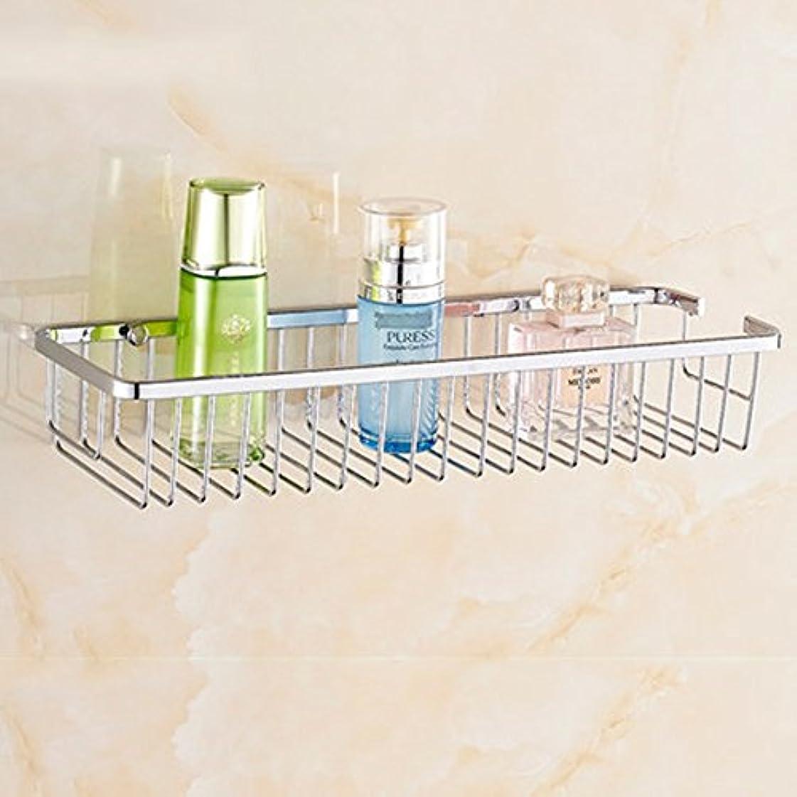 アーティストファイター良いZZLX 304ステンレススチールバスルームラックバスルーム棚シングルレイヤーダブルレイヤー四角形バスケット(オプションのサイズ)(オプションのレイヤー) ロングハンドル風呂ブラシ (色 : A, サイズ さいず : 30cm)
