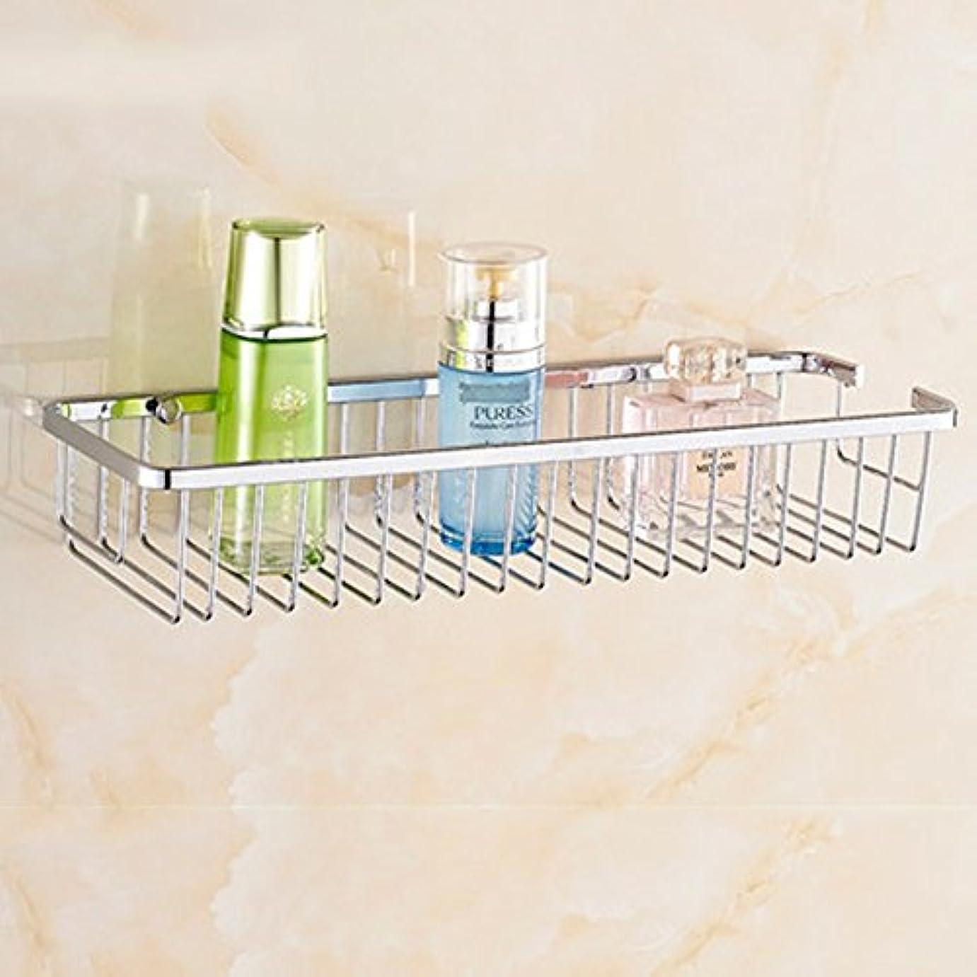 蚊破滅的なルアーZZLX 304ステンレススチールバスルームラックバスルーム棚シングルレイヤーダブルレイヤー四角形バスケット(オプションのサイズ)(オプションのレイヤー) ロングハンドル風呂ブラシ (色 : A, サイズ さいず : 30cm)