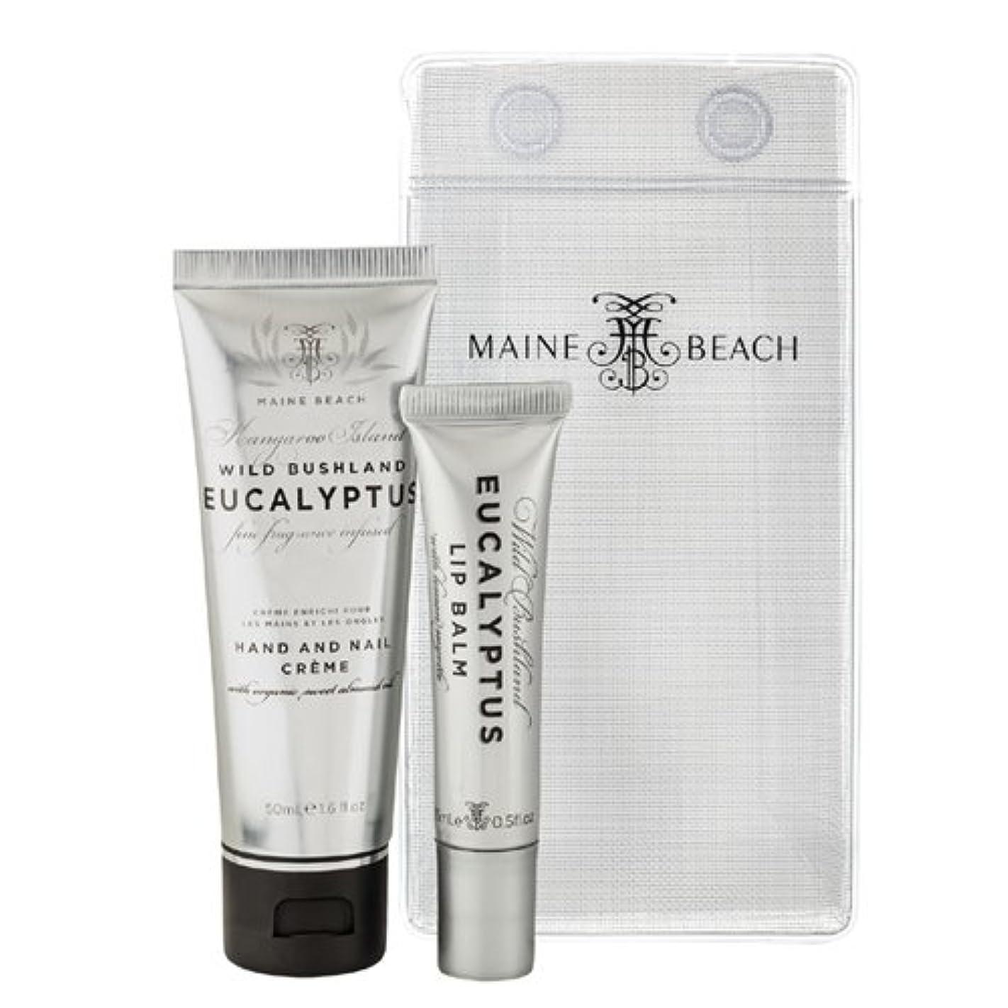 ワックスいらいらさせるお酢MAINE BEACH マインビーチ Eucalyptus Series Essentials DUO Pack