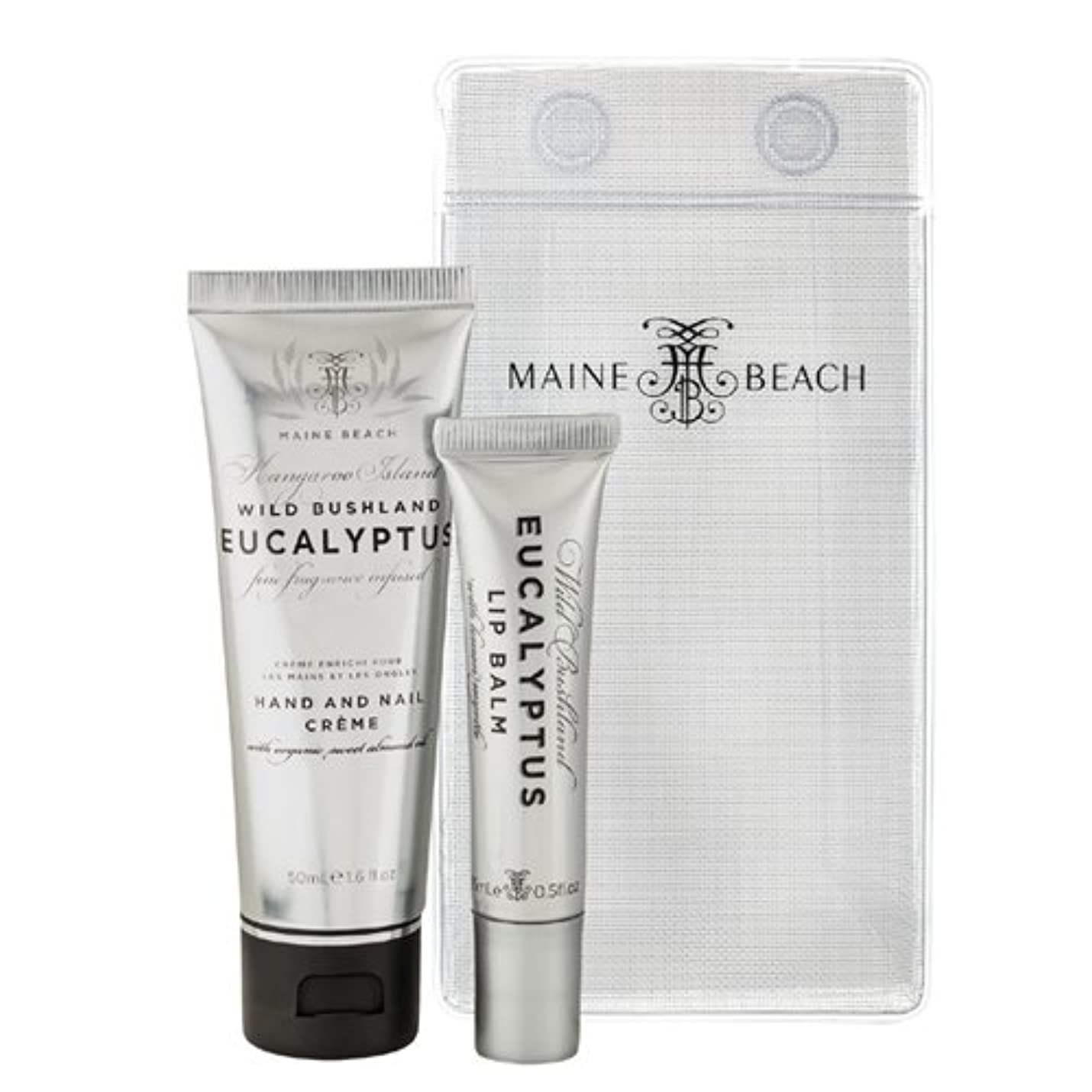 真空衰える上下するMAINE BEACH マインビーチ Eucalyptus Series Essentials DUO Pack