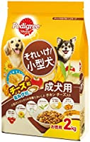 ペディグリー ドッグフード それいけ! 小型犬 成犬用 チキン チーズ入り 2kg