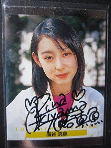 4795 仮面ライダーアギト 風谷真魚役 秋山莉奈 直筆サインカード