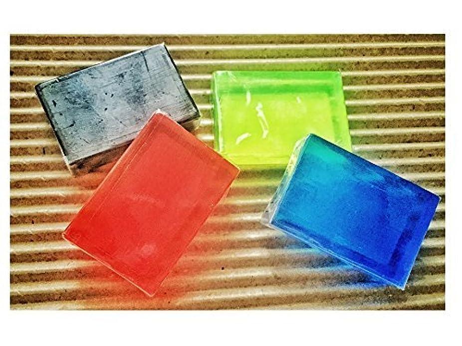 付き添い人買い手急ぐサンソリット スキンピールバー フォーサロン ミニソープ4種類  正規品 (角質ケア成分AHA?BHA?ハイドロキノール?ティートゥリー配合?ピーリング効果) 15g×4個 4種類セット