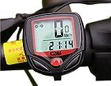サイクルコンピューター 防水 自転車 速度 距離 時計