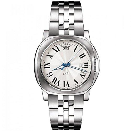 [ベダアンドカンパニー]Bedat & Co. 腕時計 888_011_100 No8 Silver Dial Stainless Steel メンズ [並行輸入品]