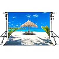 Seaside景色バックドロップビーチ海写真背景meetsioy 7x 5ftテーマパーティー写真ブースYoutube Backdrop lxmt1067