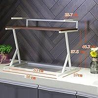 LIANGJUN キッチン用収納棚金属製の電子レンジラック調味料ラック、7種類あります ( 色 : 2#-brown )