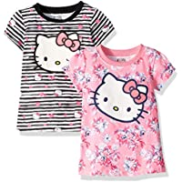 Hello Kitty Baby Girls' 2 Pack Embellished Knit Dress