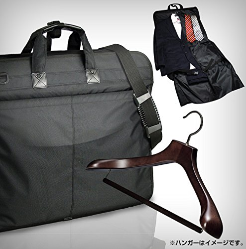 スーツ 持ち運び 軽量ビジネスガーメントケース ブラック(出...
