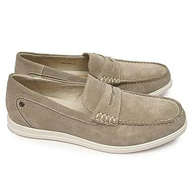 [リーガル] REGAL 靴 メンズ 53MR カジュアル ローファー スエードレザー グレースエード 24.0cm