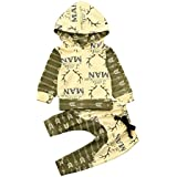 (プタス)Putars ベビー服 子供服 パーカー 男の子 総柄 鹿柄 英字柄 可愛い 秋 冬 旅行 記念日 プレゼント 3-18ヶ月