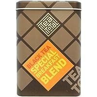 Tea total (ティートータル)/ ブレックファスト スペシャルブレンド 三角ティーバッグ 20包入り缶 ニュージーランド産 (紅茶 フレーバーティー) 【並行輸入品】