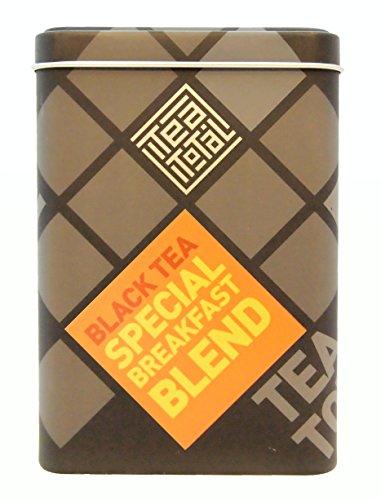 Tea Total Tea total ティートータル ブレックファスト スペシャルブレンド 三角ティーバッグ 20包入り缶 ニュージーランド産 紅茶 フレーバーティー