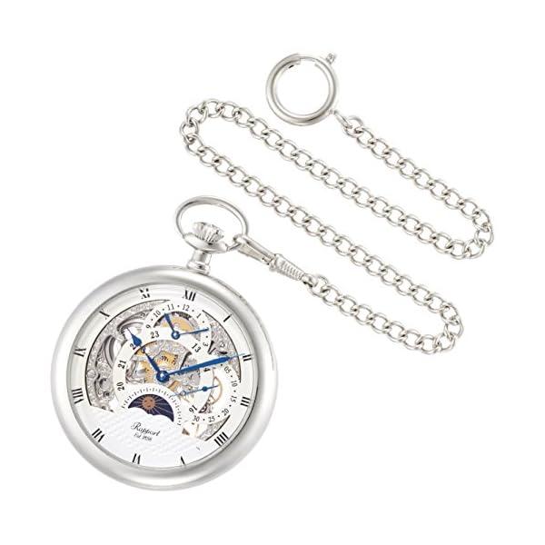 [ラポート]RAPPORT 懐中時計 手巻き デ...の商品画像