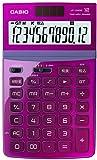 カシオ デザイン電卓 ジャストタイプ 12桁 JF-Z200PK-N ピンク