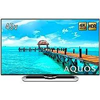 シャープ 45V型 液晶 テレビ AQUOS LC-45US40 4K HDR対応 低反射「N-Blackパネル」搭載