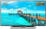 シャープ 45V型 4K対応液晶テレビ AQUOS LC-45US40 HDR対応 リッチブライトネス搭載