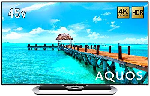 シャープ 45V型 4K対応液晶テレビ AQUOS LC-4...