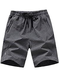 (ヒラロキ) Hilarocky ハーフパンツ メンズ スポーツ ショートパンツ 吸汗速乾 軽量 短パンツ ランニング アウトドア