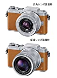 Panasonic ミラーレス一眼カメラ DMC-GF7ダブルズームレンズキット 標準ズームレンズ/望遠ズームレンズ付属 ブラウン DMC-GF7W-T 画像