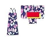 子供 2way ワンピース浴衣 サンドレス 4点セット (140, WA-3)