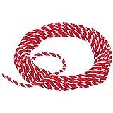 紅白ひも 太さ6mm 切売 「紅白紐・紅白ロープ」 アクリル製
