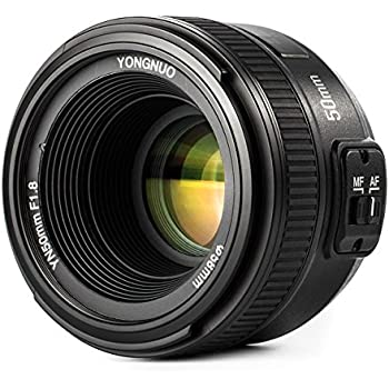 YONGNUO YN50mm F1.8N 単焦点レンズ ニコン Fマウント フルサイズ対応 標準レンズ