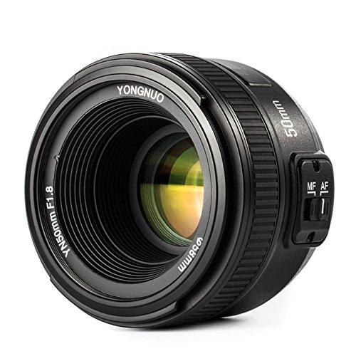 YONGNUO YN50mm F1.8N 単焦点レンズ ニコン Fマウント ...