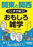 関東と関西 ここまで違う! おもしろ雑学: 食べ物、言葉、性格…… ところ変われば、こんなに! (知的生きかた文庫)